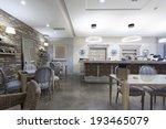cafe bar interior | Shutterstock . vector #193465079