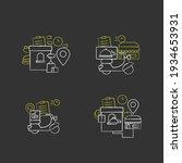 online food chalk icons set.... | Shutterstock .eps vector #1934653931