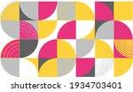geometric pattern. scandinavian ... | Shutterstock .eps vector #1934703401