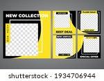 modern social media post feed....   Shutterstock .eps vector #1934706944