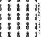 pineapple seamless pattern.... | Shutterstock .eps vector #1934727287