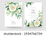 delicate vector floral editable ... | Shutterstock .eps vector #1934766734