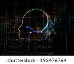 artificial intelligence series. ... | Shutterstock . vector #193476764