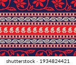 traditional asian paisley... | Shutterstock .eps vector #1934824421