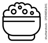 tasty mashed potatoes icon.... | Shutterstock .eps vector #1934856341
