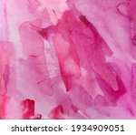 Abstract Texture Brush Ink Art...