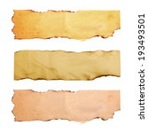 set of old paper texture... | Shutterstock . vector #193493501