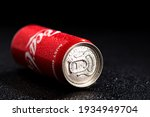 Water Droplets On Classic Coca...