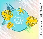 summer flash sale template.... | Shutterstock .eps vector #1935089657