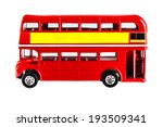 classic london bus model... | Shutterstock . vector #193509341
