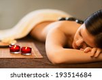 young girl in spa salon | Shutterstock . vector #193514684