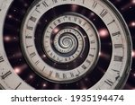 Infinity Time Spiral In Space ...