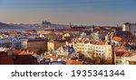 Panorama View Of Prague Castle...
