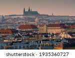 View Of Prague Castle And St....