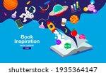book inspiration  online... | Shutterstock .eps vector #1935364147