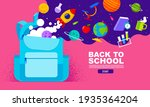 back to school sale banner ... | Shutterstock .eps vector #1935364204