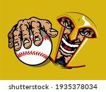 spartan baseball team design...   Shutterstock .eps vector #1935378034