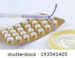 birth control symbol  iud and... | Shutterstock . vector #193541405
