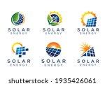 sun solar energy tech logos   Shutterstock .eps vector #1935426061