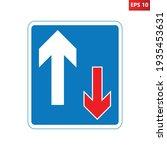 traffic has priority over... | Shutterstock .eps vector #1935453631