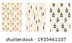 a set of three aesthetic... | Shutterstock .eps vector #1935461107