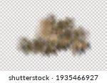 sandstorm  a cloud of dust or...   Shutterstock .eps vector #1935466927