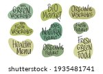 eco green sign lettering for...   Shutterstock .eps vector #1935481741