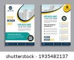 business flyer layout template...   Shutterstock .eps vector #1935482137