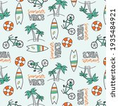 Summer Vibes Pattern With...