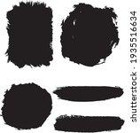 collection of vector black... | Shutterstock .eps vector #1935516634