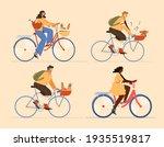 set with people men and women...   Shutterstock .eps vector #1935519817