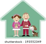 a vector illustration of a boy... | Shutterstock .eps vector #193552349