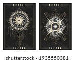 vector dark illustrations with... | Shutterstock .eps vector #1935550381