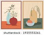 set of wall art paintings.... | Shutterstock .eps vector #1935553261