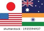 japan australia usa and india... | Shutterstock .eps vector #1935594937