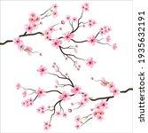 branch tree vector illustration ... | Shutterstock .eps vector #1935632191