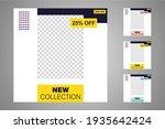 new set of editable minimal... | Shutterstock .eps vector #1935642424