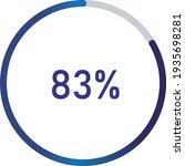 circle percentage diagrams ... | Shutterstock .eps vector #1935698281