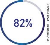 circle percentage diagrams ... | Shutterstock .eps vector #1935698284