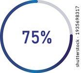 circle percentage diagrams ... | Shutterstock .eps vector #1935698317