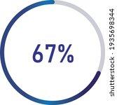 circle percentage diagrams ... | Shutterstock .eps vector #1935698344