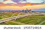Downtown Dallas  Texas  Usa...