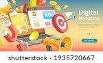 3d isometric flat vector... | Shutterstock .eps vector #1935720667