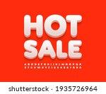 vector bright banner hot sale.... | Shutterstock .eps vector #1935726964