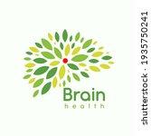 green leaves brain  logo...   Shutterstock .eps vector #1935750241
