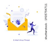 open envelope with letter and...   Shutterstock .eps vector #1935754711