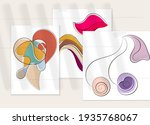 Abstract Hand Drawn Vector...