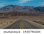 Wide Shot Of The  Road In The...