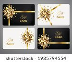 white and black gift cards with ... | Shutterstock .eps vector #1935794554