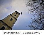 clock tower of Komotini city in Greece